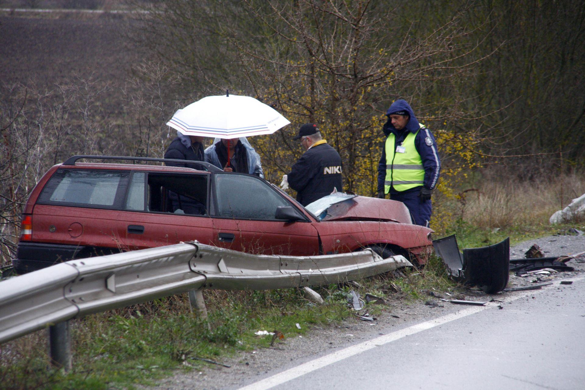 Загиналият е пътувал в посока Лесово