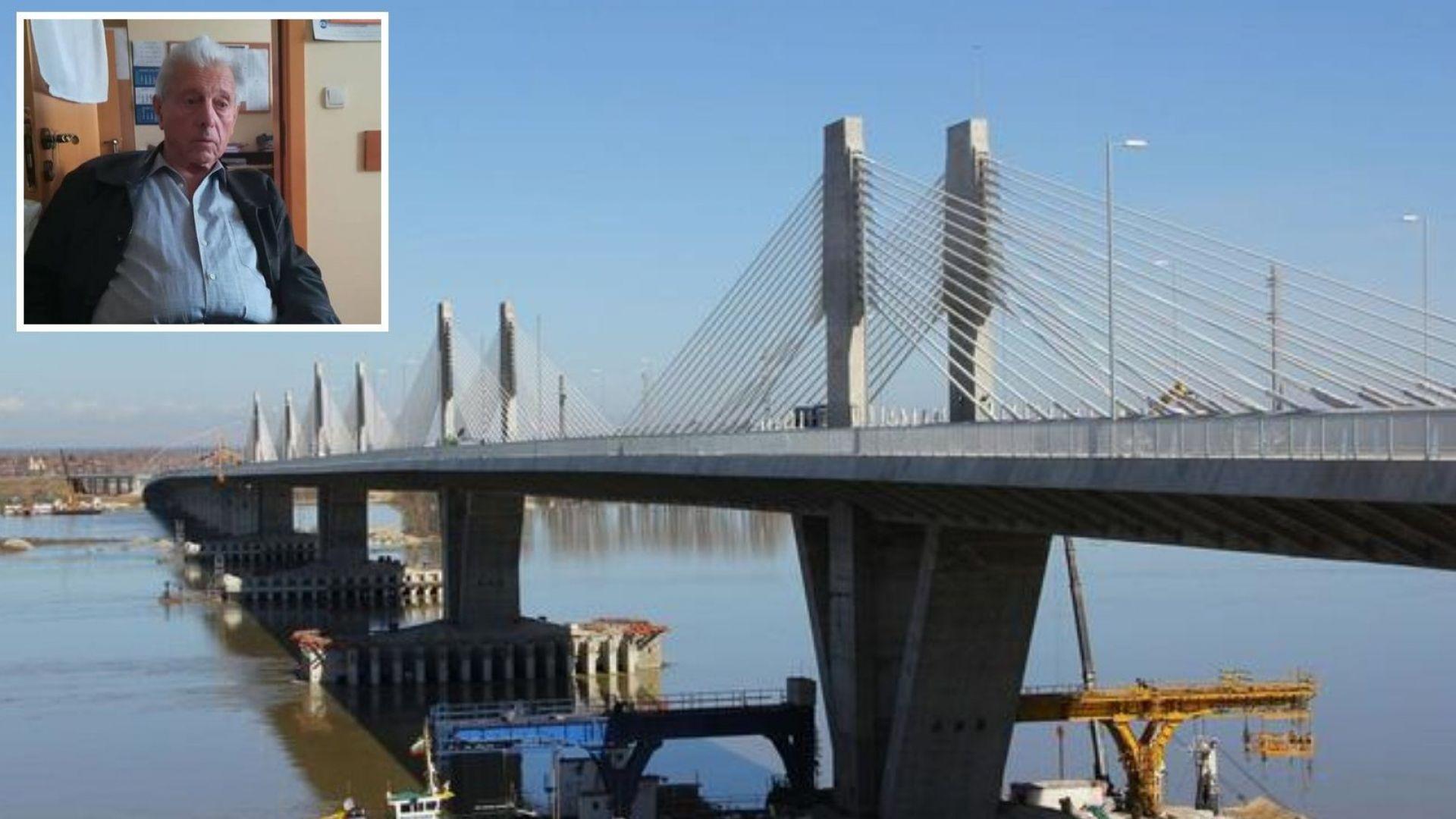 """Участник в изграждането на """"Дунав мост 2"""": Опасен е - с лош проект и лошо изпълнение"""