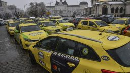 Над 5000 таксита блокират центъра на София в четвъртък