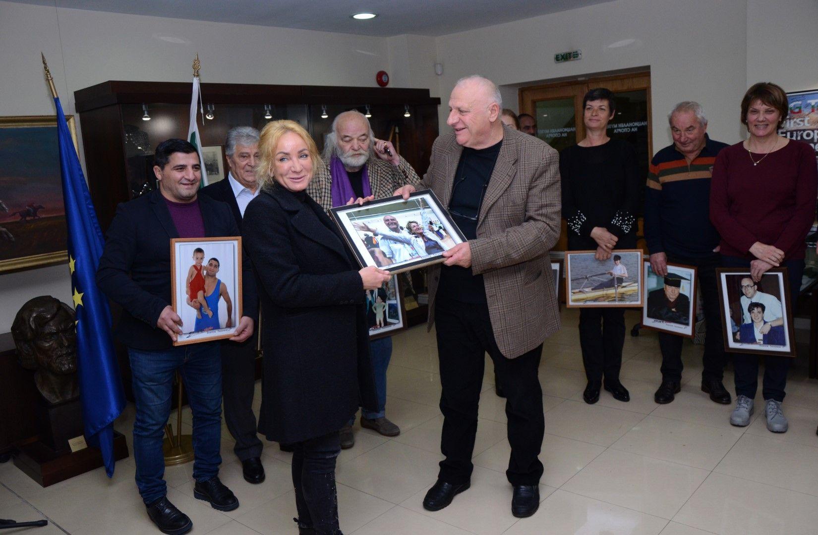 Мария Гроздева получи своята снимка