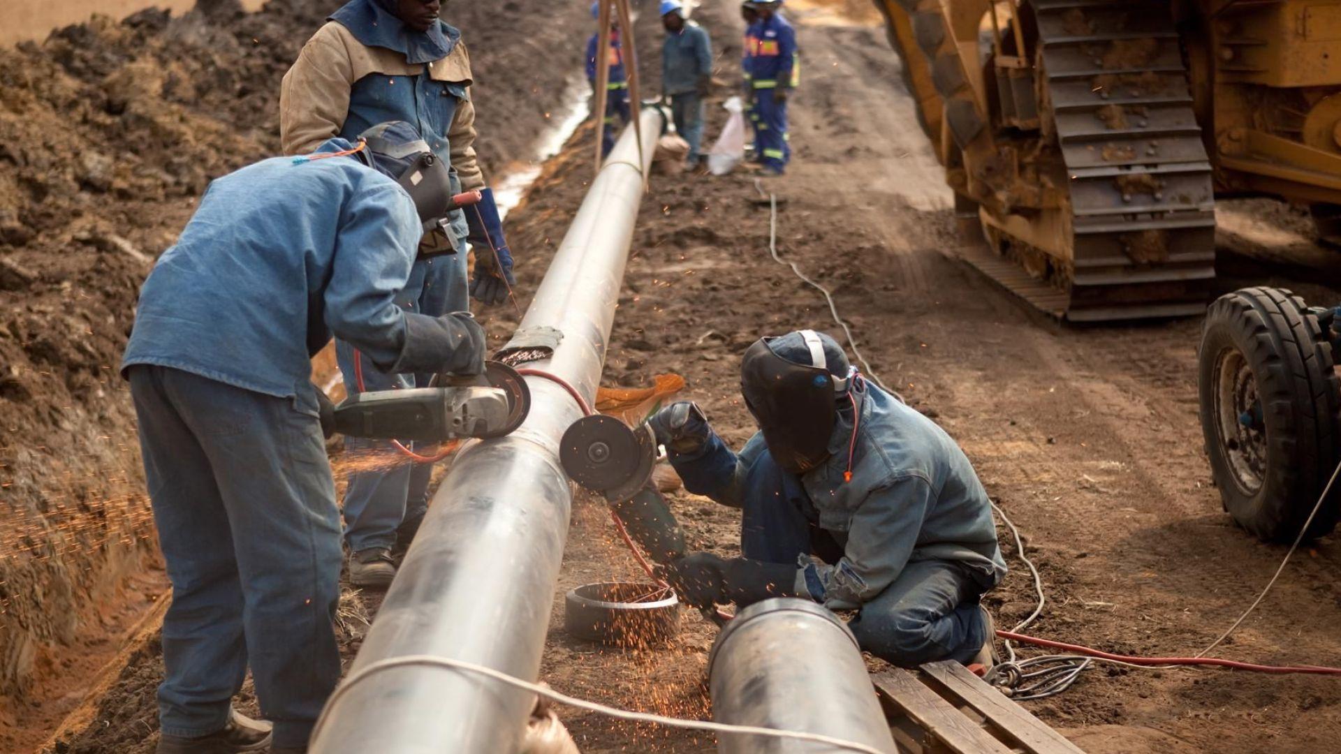 Свързаха газопроводите TAP и TANAP от Южния газов коридор