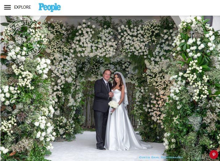 Сватбата на Куентин Тарантино и Даниела Пик