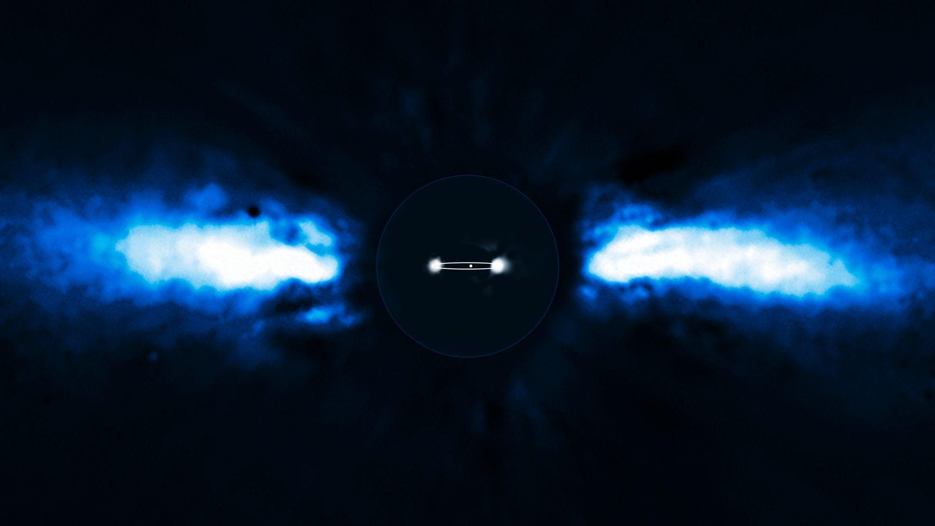 Земята е бомбардирана от частици от друга звезда