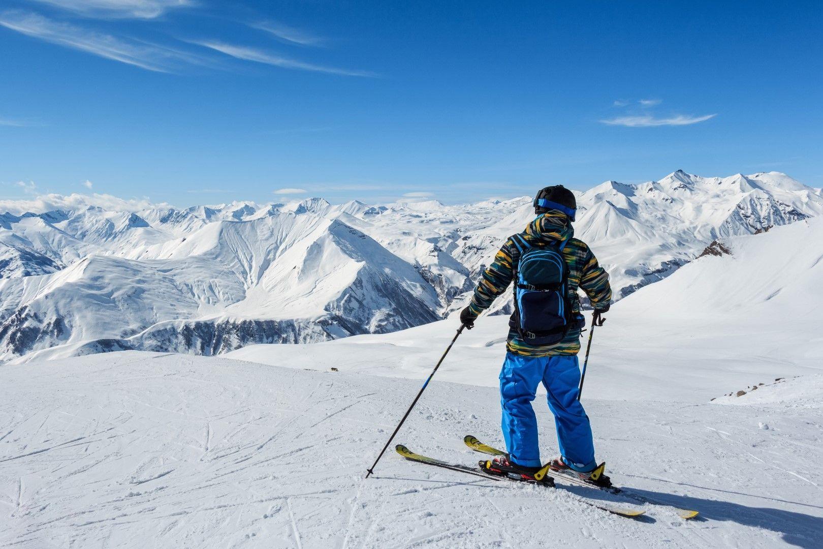 Гудаури - прекрасна гледка към Кавказките върхове