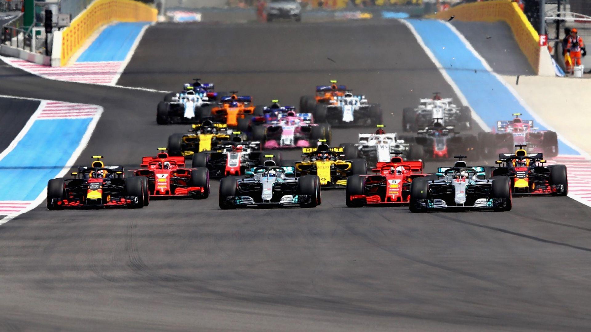 Формула 1 потегля през лятото с убийствен календар