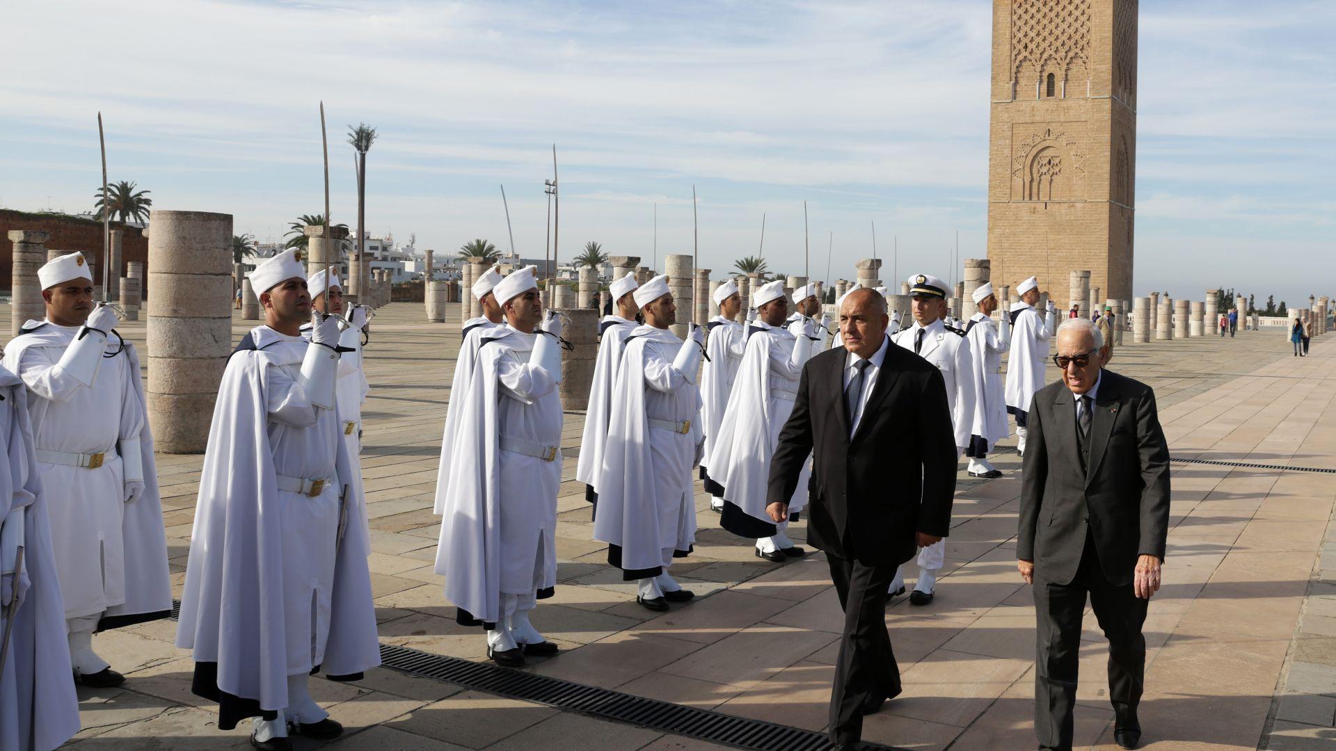 Борисов в мавзолея на крал Мохамед V  (снимки)