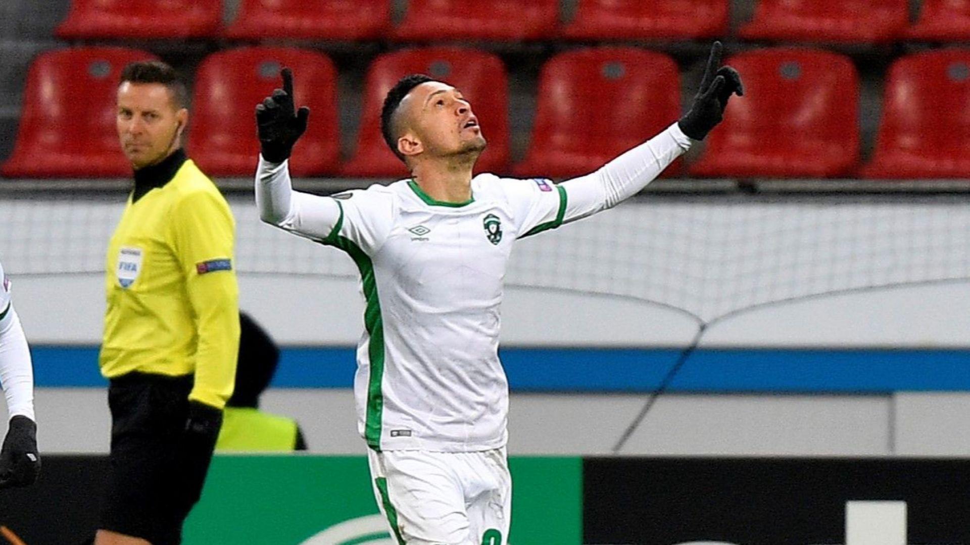 Легенда на Лудогорец отиде във втора дивизия на Бразилия
