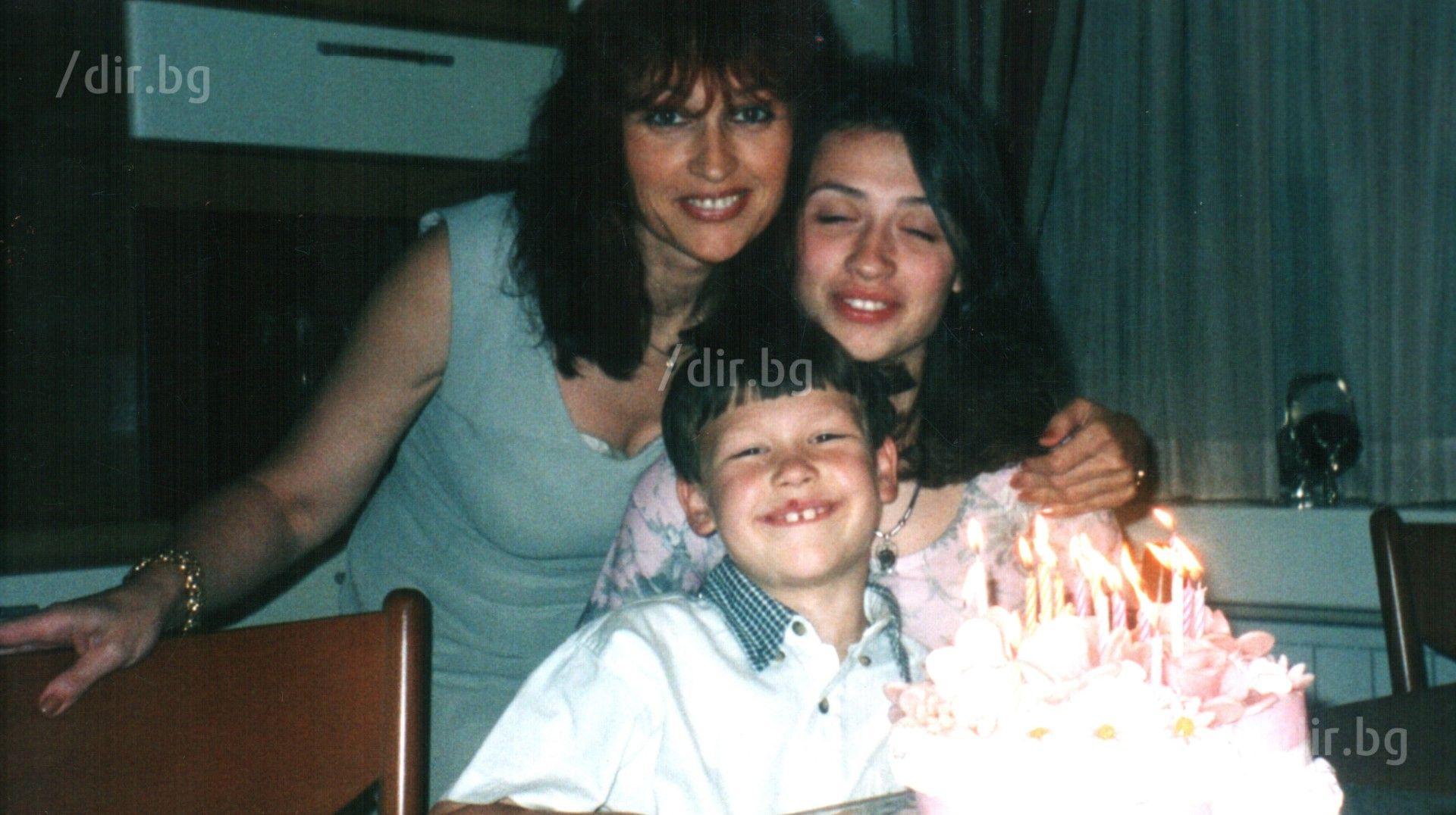 Раиса и Николай с мама Дочка