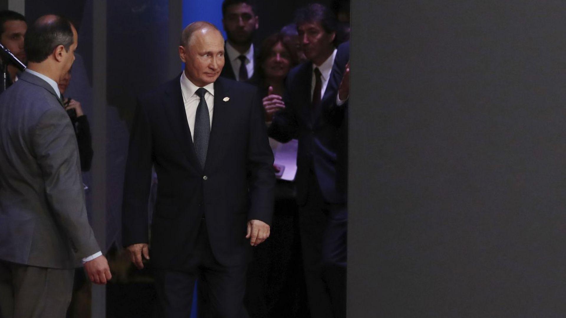 """Путин и Тръмп все пак ще имат среща """"на крак"""" в Буенос Айрес"""