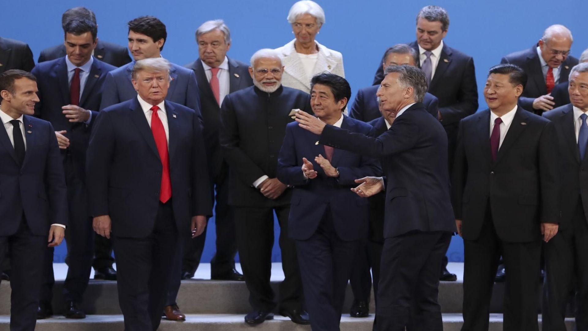 Г-20: Срещата на лидерите на САЩ и Китай ще определи резултата
