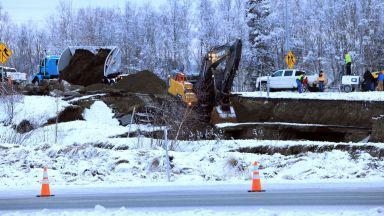 Земетресението в Аляска е нанесло сериозни щети на инфраструктурата