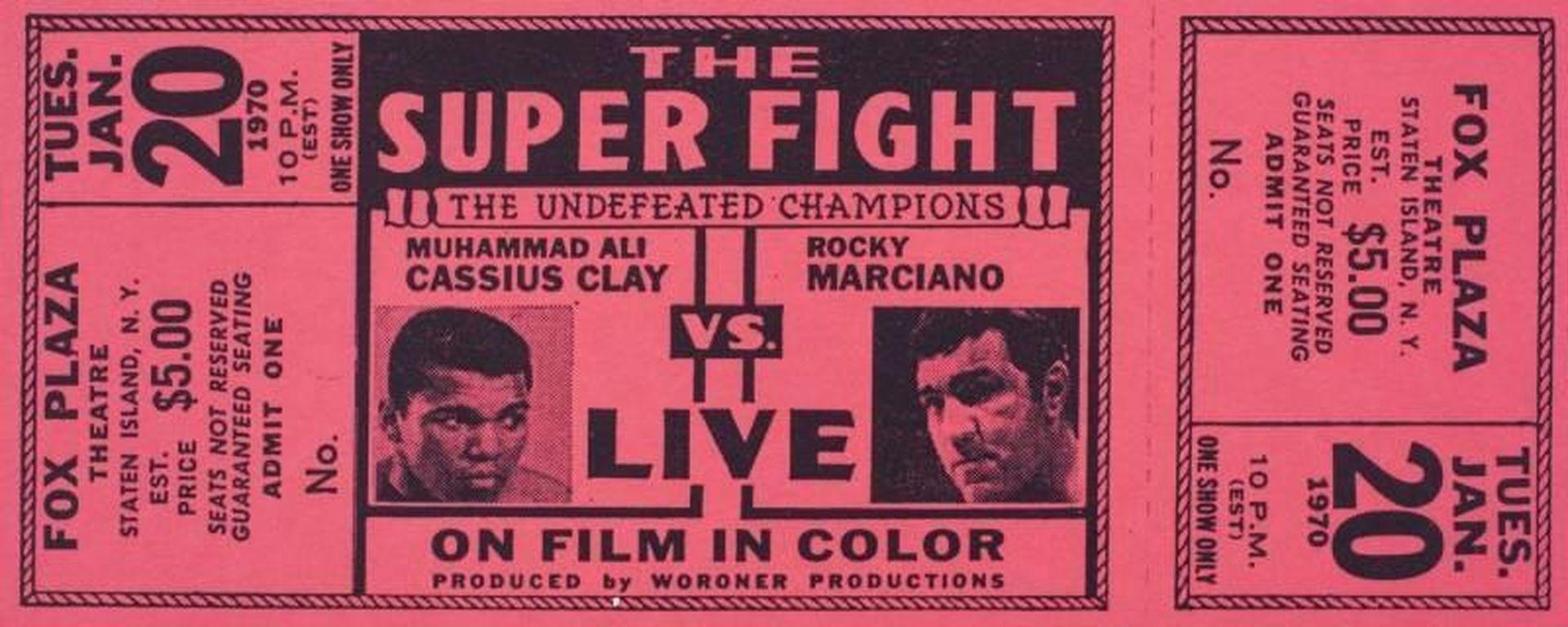 Художествена и компютърна измислица, може би... Но всъщност една от големите мечти на всеки фен на бокса - мачът на филм между Роки и Али.