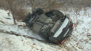 Водач на джип загина след удар в камион на пътя София - Калотина