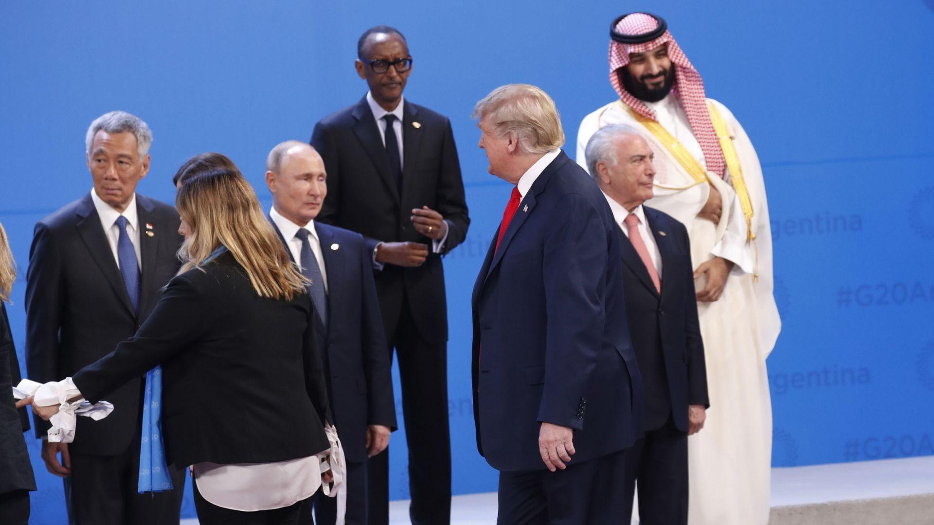Все пак среща Тръмп-Путин е имало на форума на Г-20