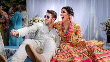 Приянка Чопра и Ник Джонас се ожениха в Индия (снимки)
