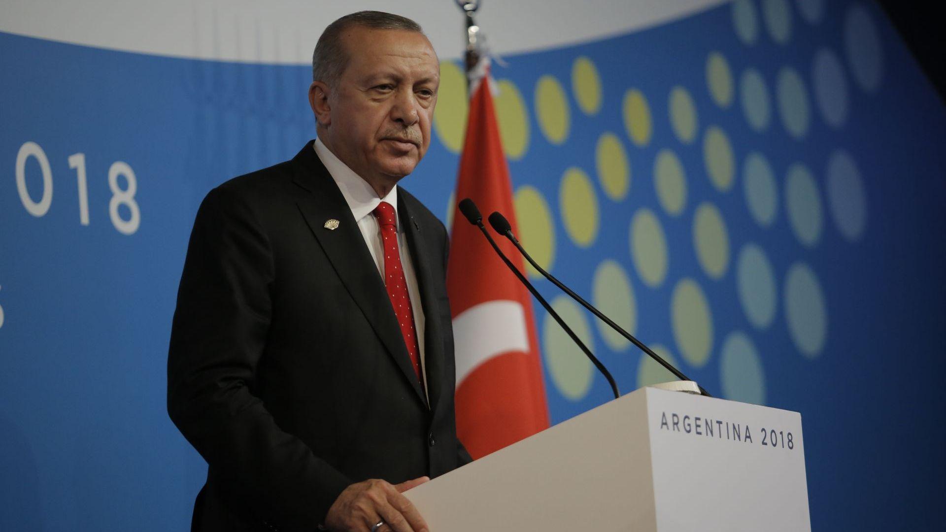 Ердоган: Турция е най-яркият защитник на човешките права