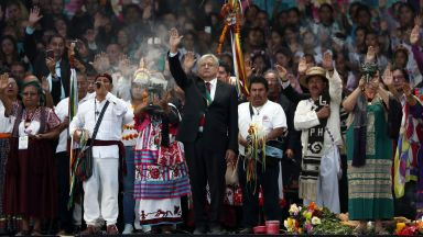 Лопес Обрадор положи клетва като президент на Мексико