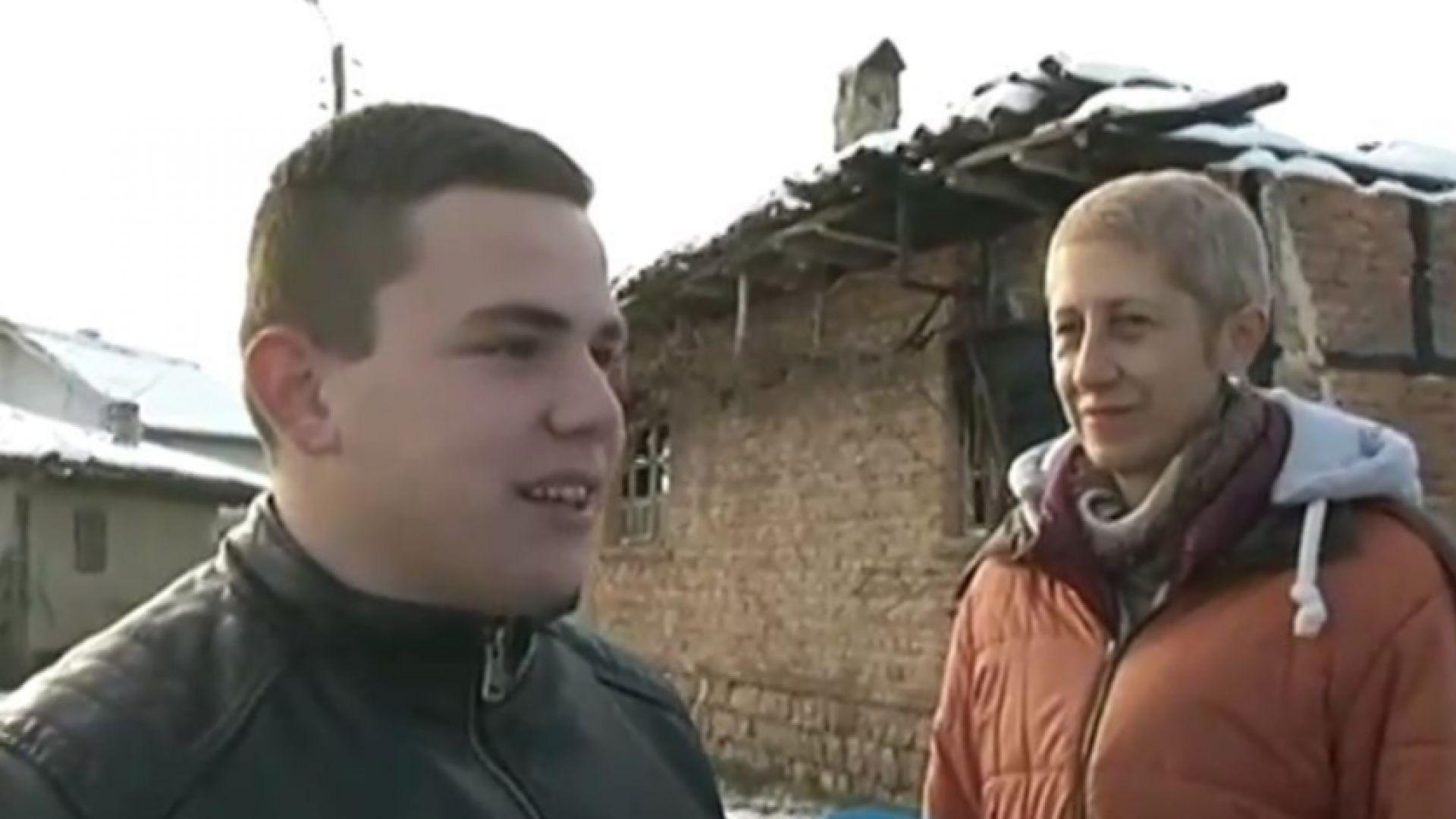 15-годишно момче спаси възрастно семейство от пожар