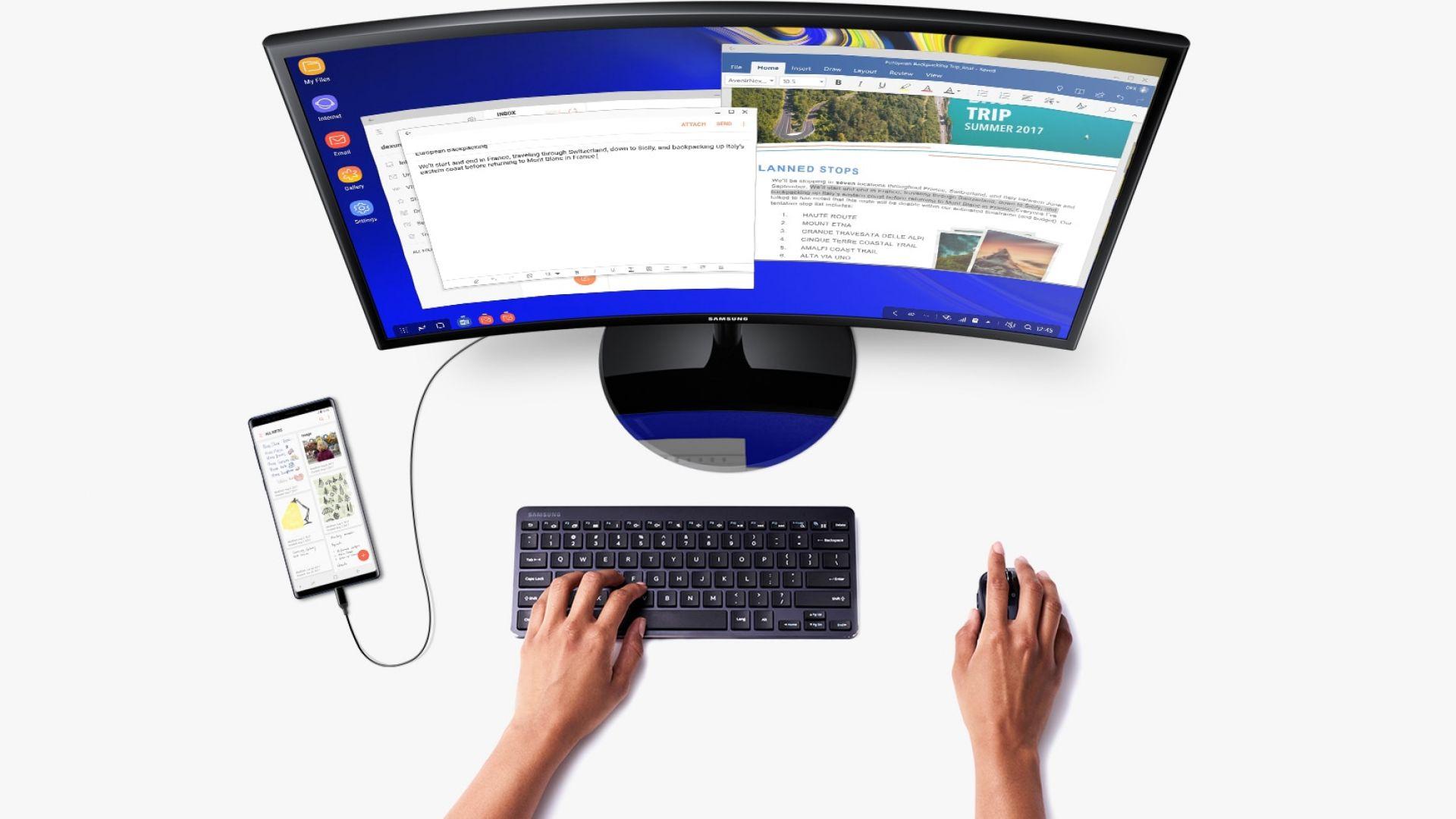 Samsung Galaxy Note9 може да се използва като компютър