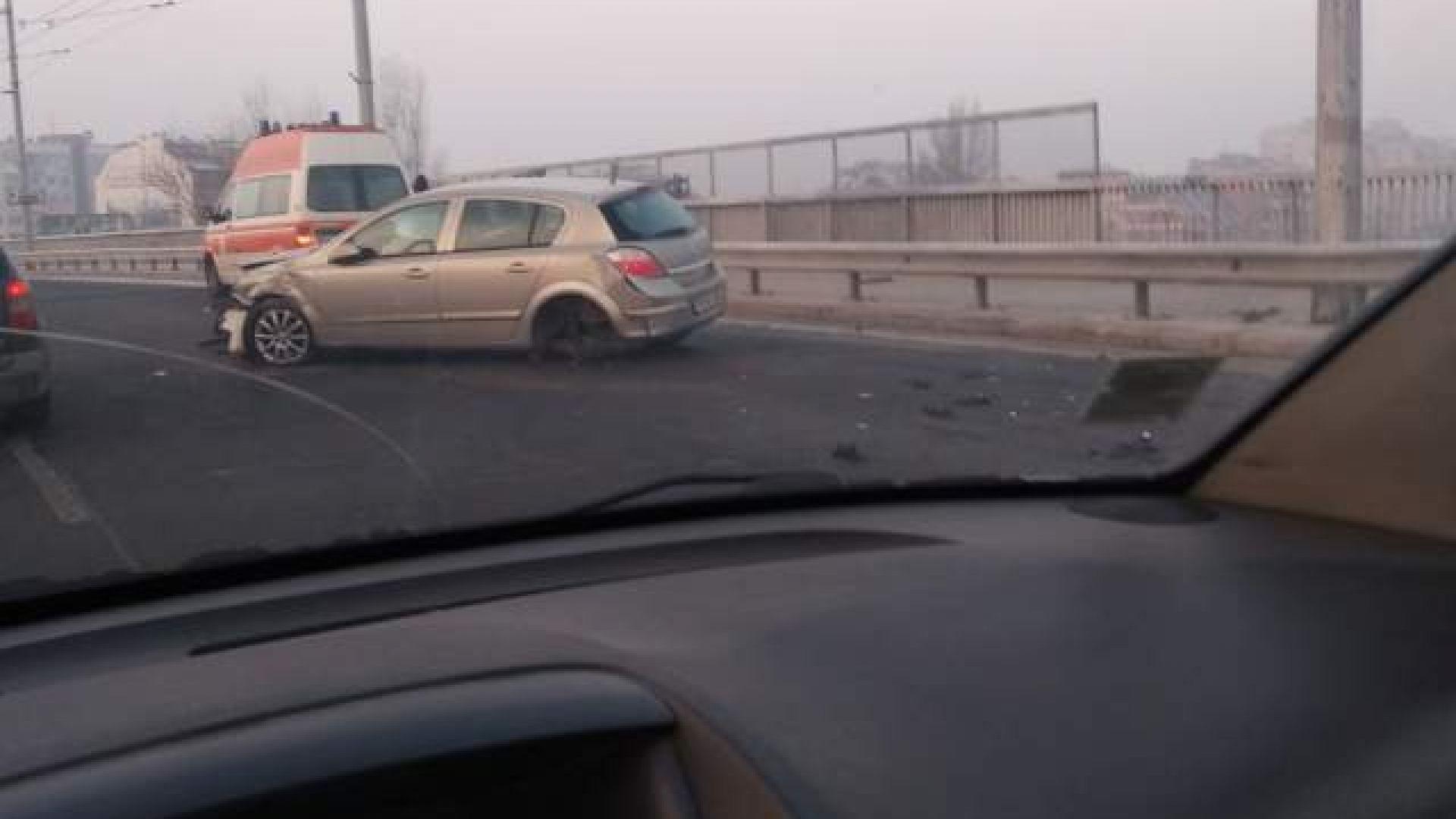 Три катастрофи в час пик в Пловдив