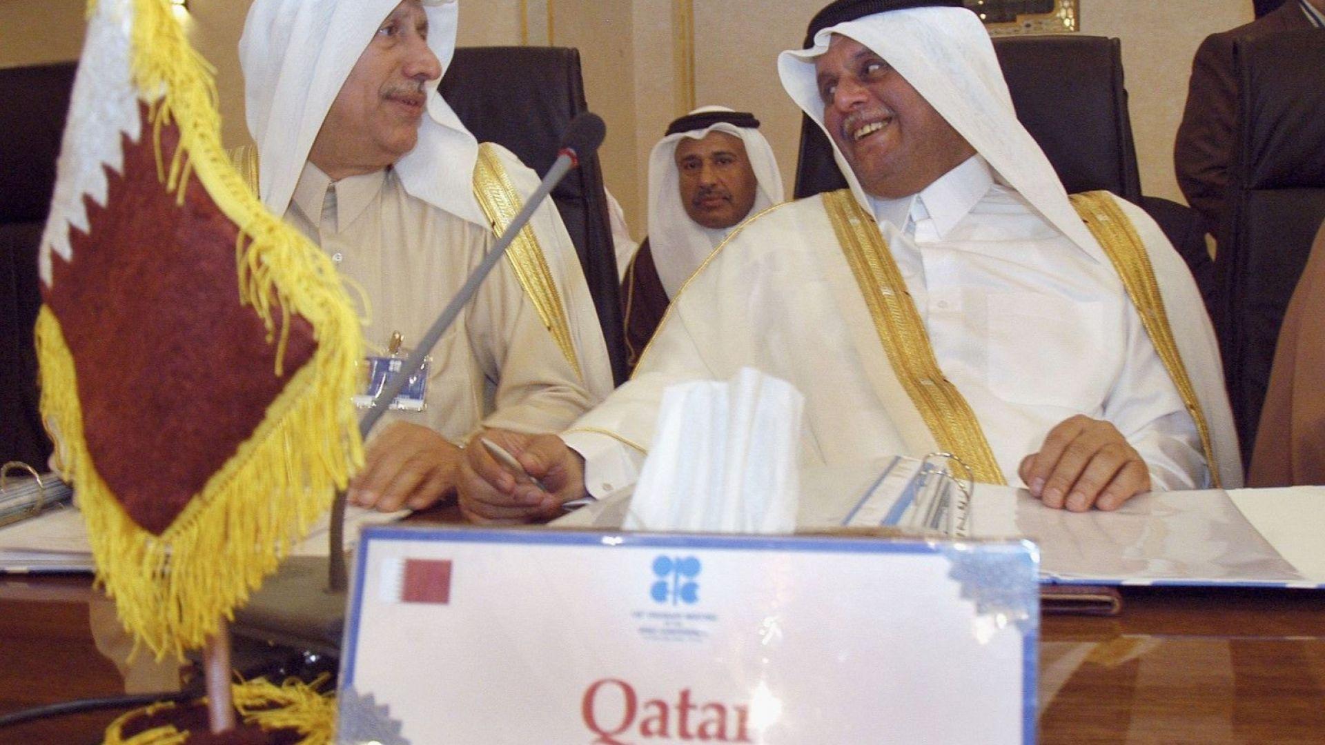 Катар напуска ОПЕК от януари 2019 година, обяви министърът на енергетиката на страната Саада бен Шарида ал-Кааби (вдясно)