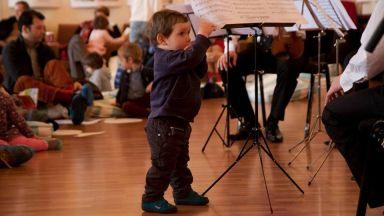 Коледен Брас концерт на възглавници за най-малките