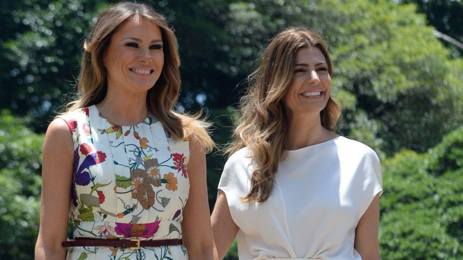 Какво облече Мелания за срещата на Г-20 в Аржентина