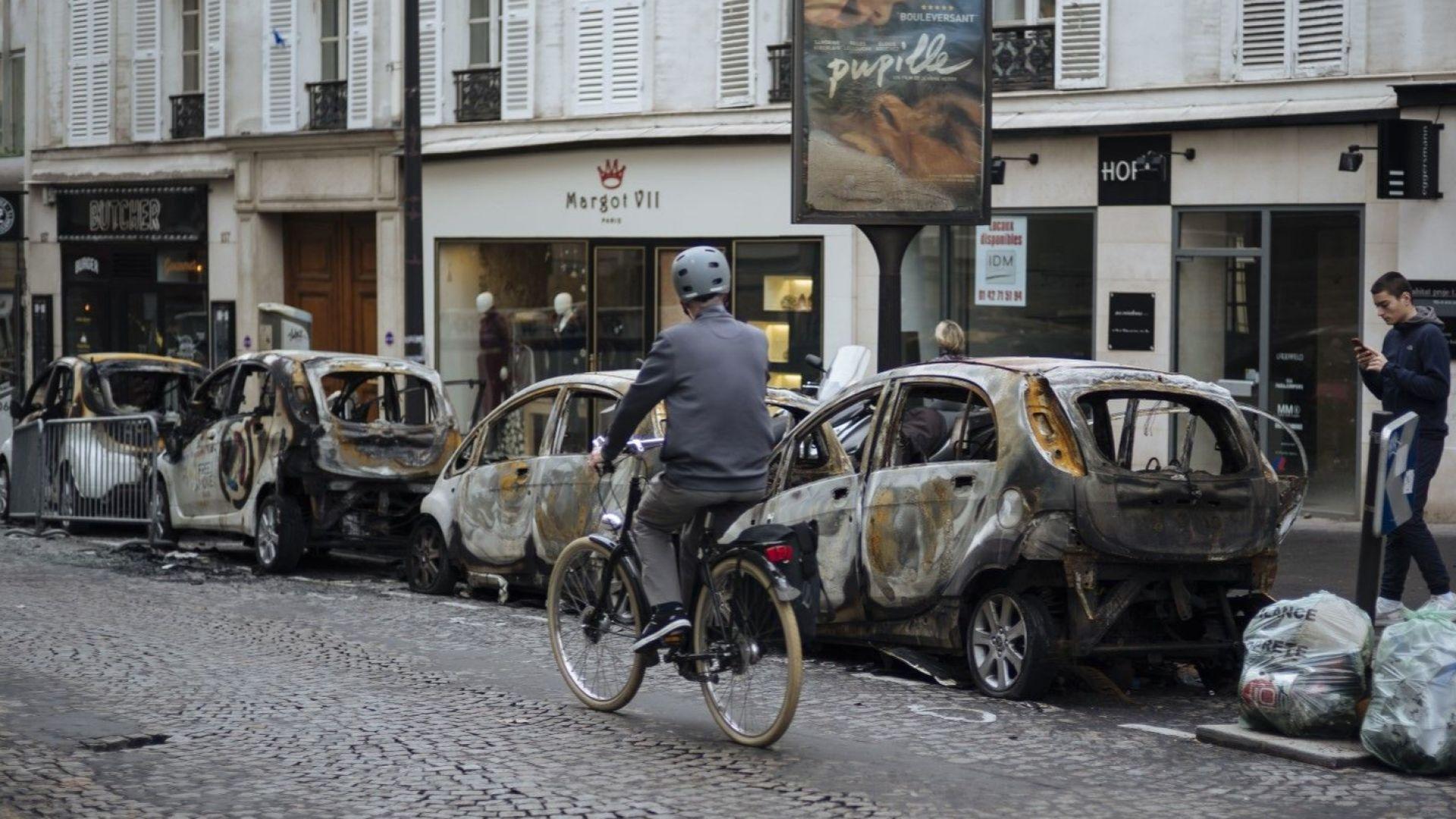 Акции на френски компании поевтиняха след размириците в Париж