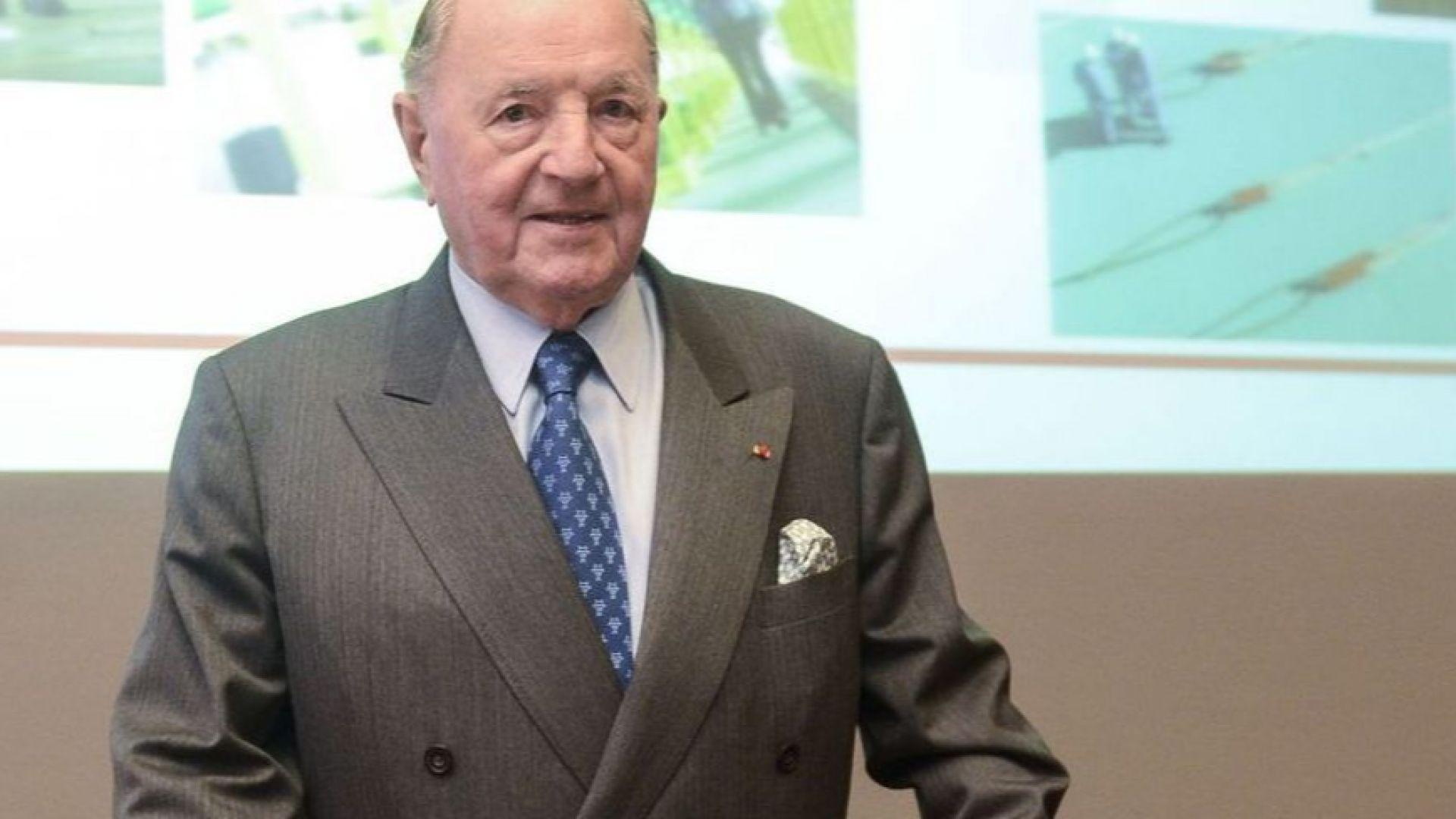 Почина Алберт Фрер, най-богатият белгиец