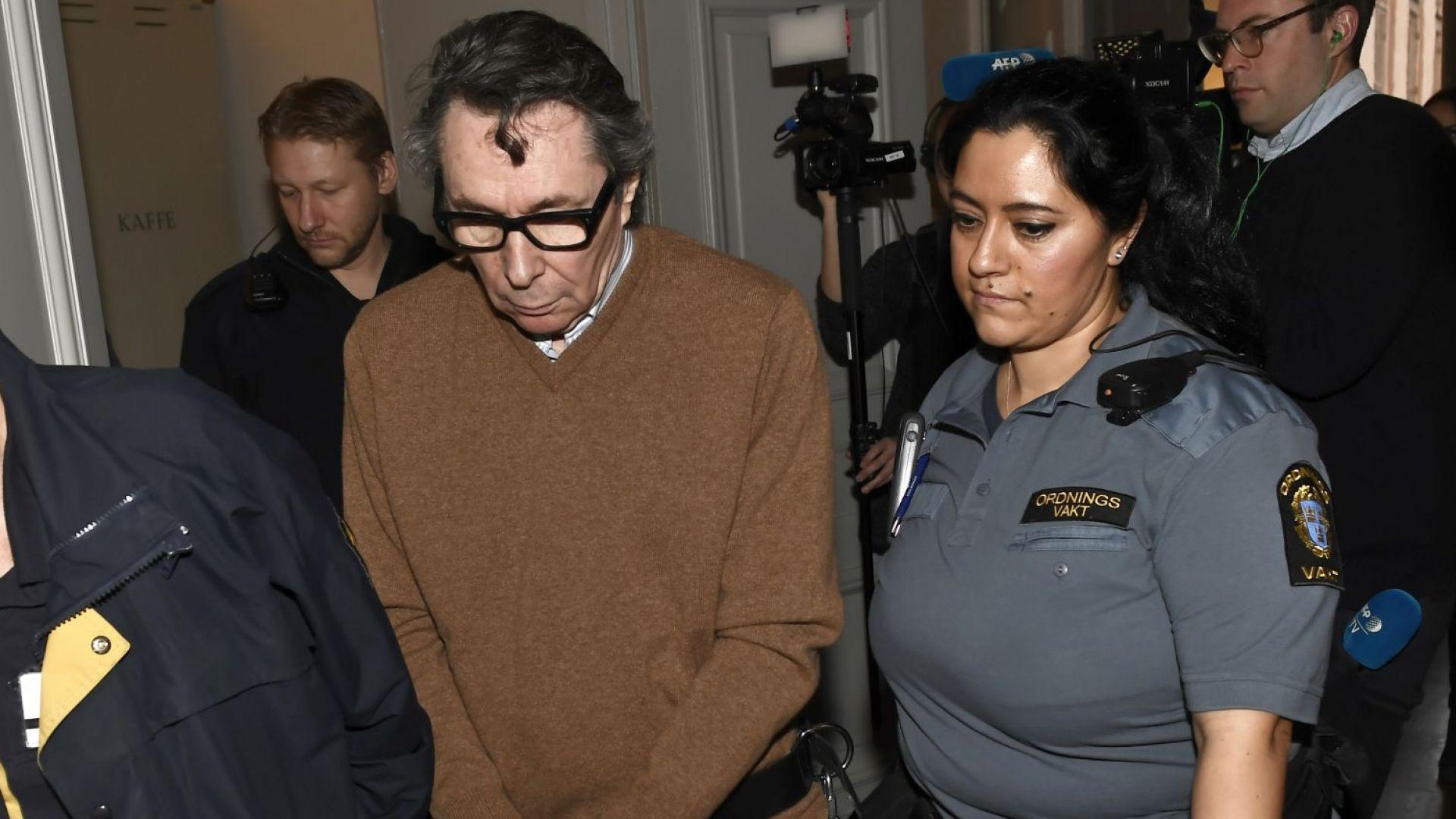 Осъдиха фотографа Жан-Клод Арно за второ изнасилване
