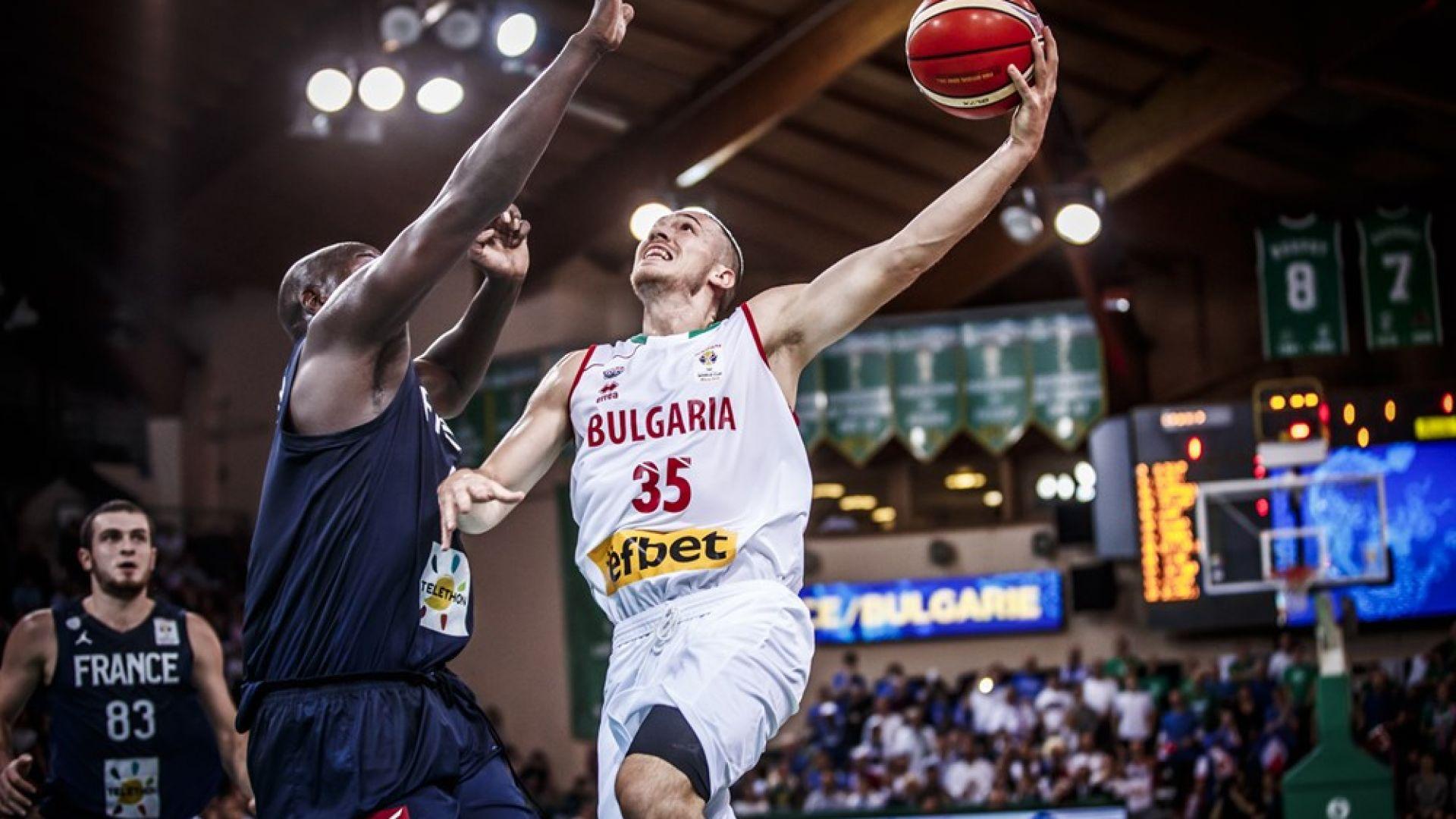 България не повтори баскетболното чудо