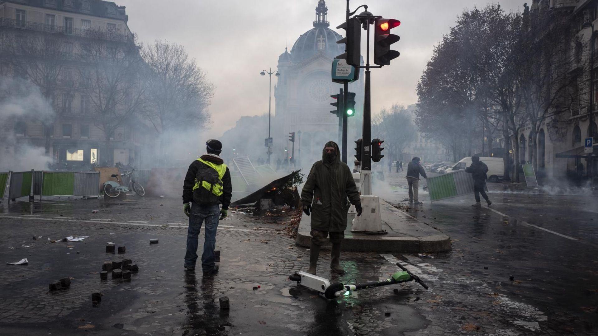Четвърта жертва на протестите във Франция