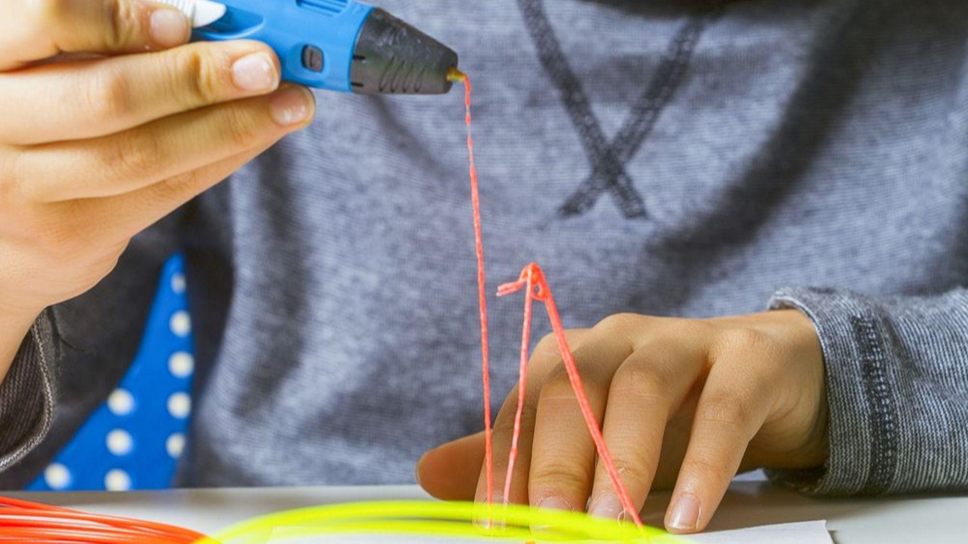 3D писалка е супер забавна джаджа
