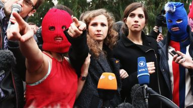 """Осъдиха Русия да изплати 37 000 евро обезщетения на """"Пуси райът"""""""