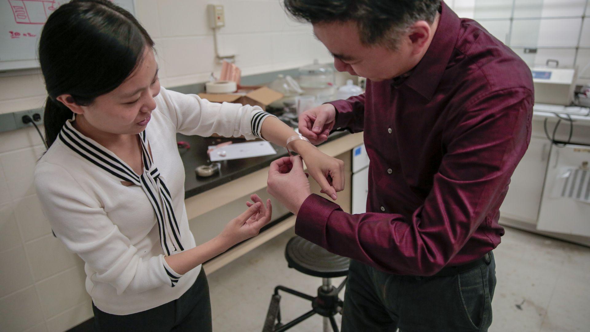 Превръзка лекува рани за 3 дни