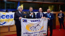 Варна е Европейски град на спорта през 2019 г.
