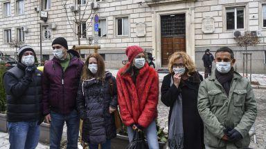 Десетки протестиращи в София заради мръсния въздух