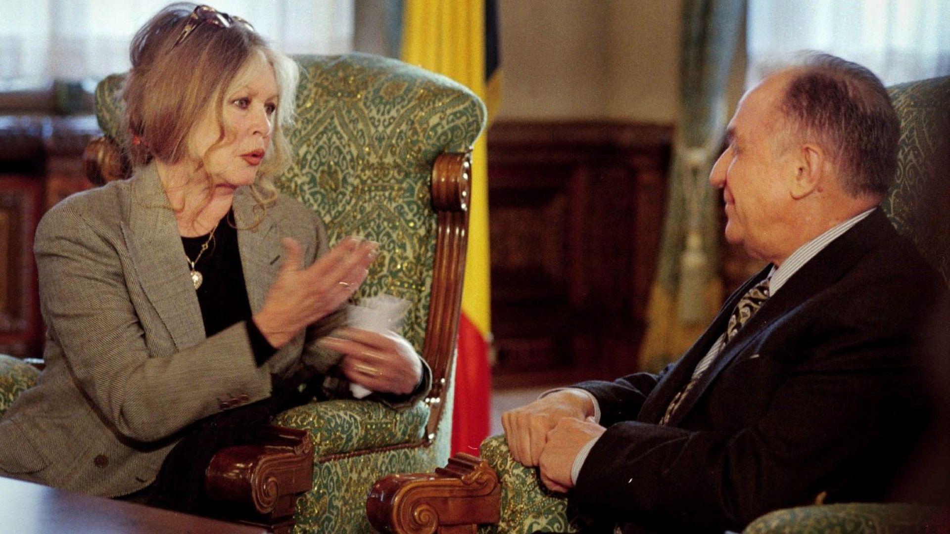 Брижит Бардо: Макрон e съблазнителен, става за актьор, но не и за президент