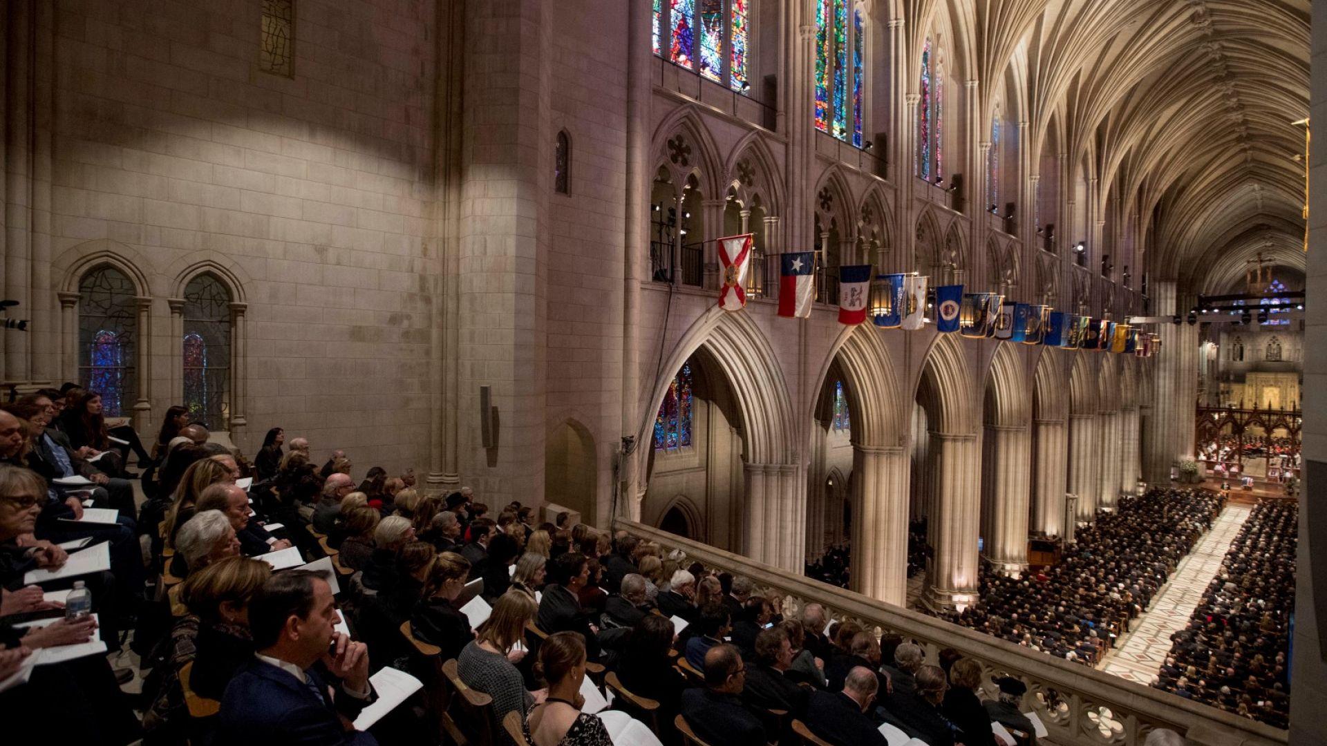 И Цветанов присъства на траурната церемония на Джордж Буш