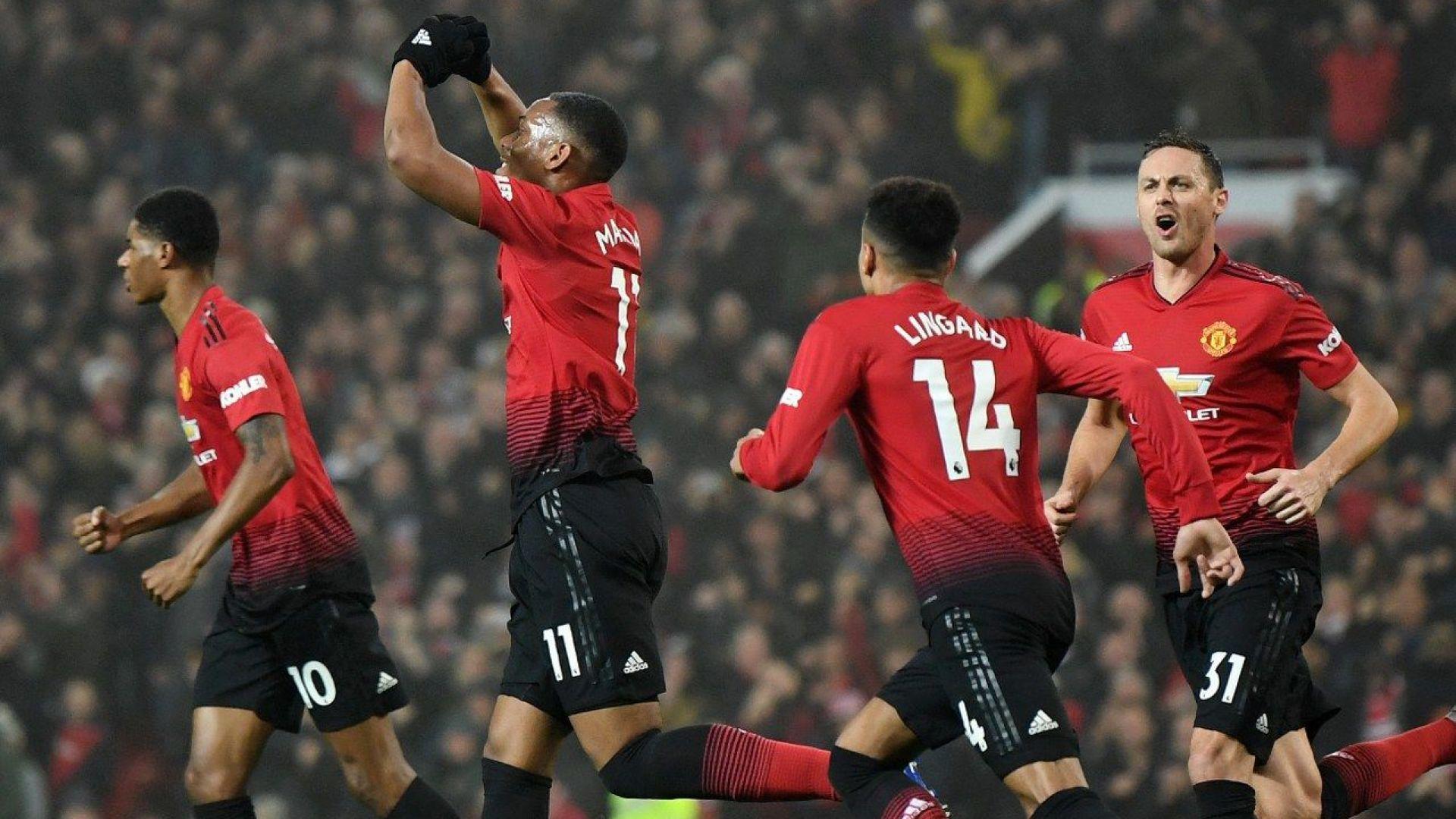 Юнайтед срещу Арсенал - головото шоу е гарантирано