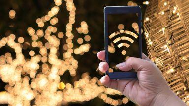 Коледните лампички могат да забавят скоростта на безжичния интернет