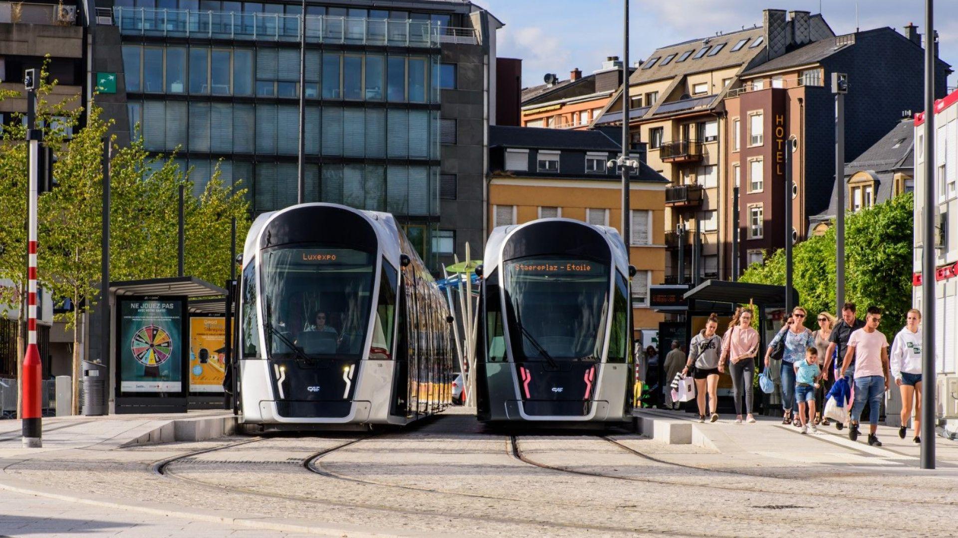 Люксембург въвежда безплатен градски транспорт от юни 2019 година