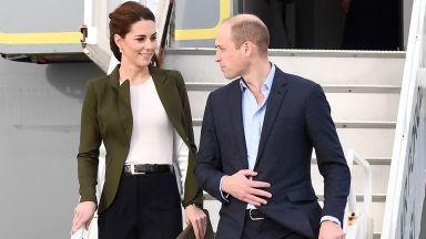 Кейт избра тоалет, повлиян от Меган
