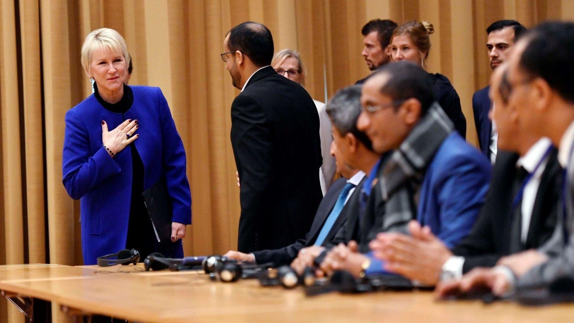 В Швеция започнаха мирните преговори за Йемен под егидата на ООН