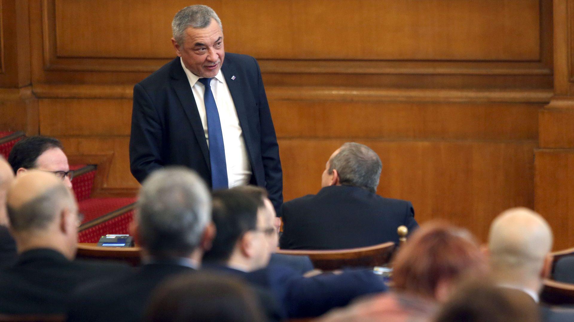 Валери Симеонов подкрепи с условие ромската концепция на Красимир Каракачанов