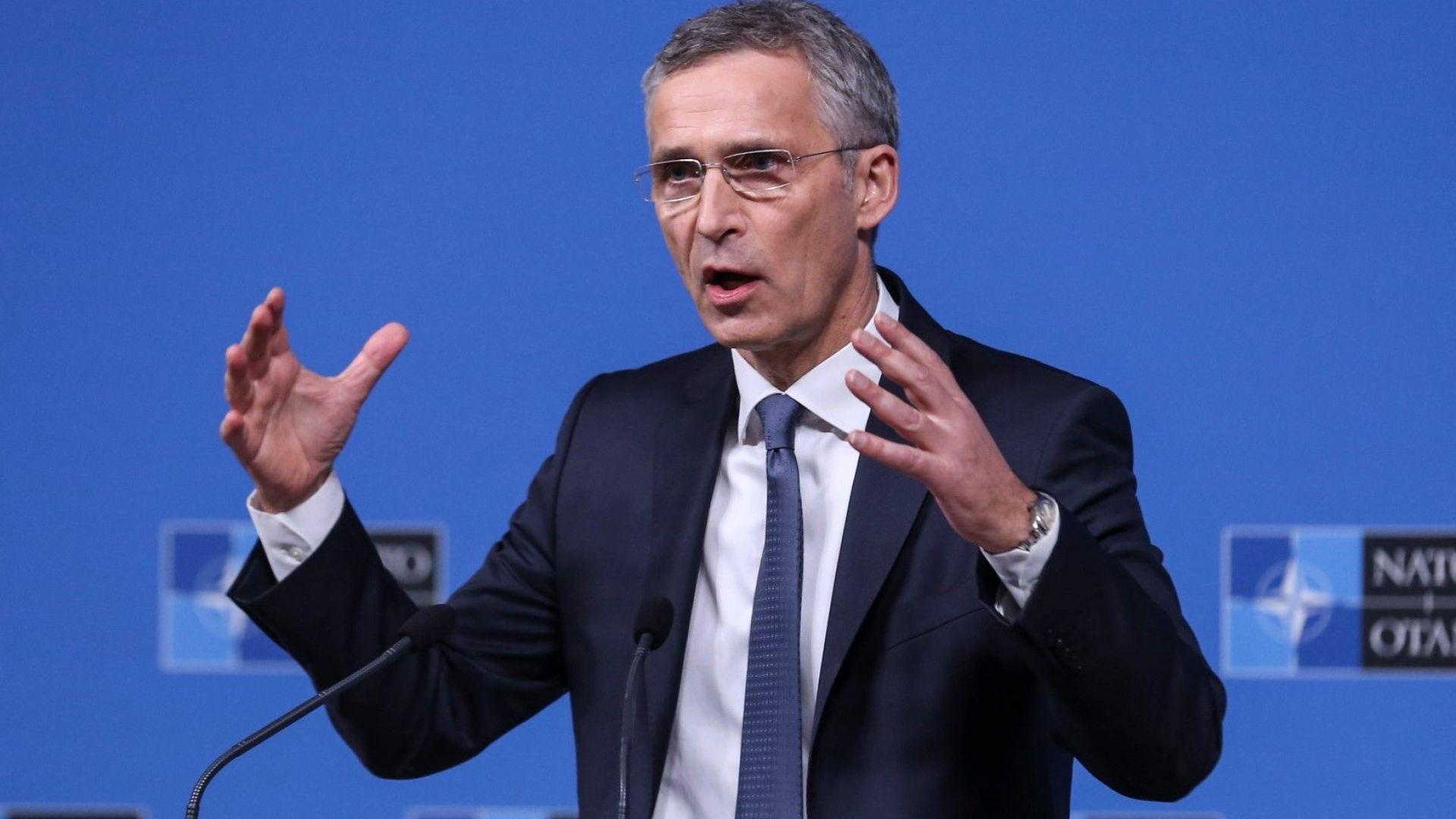 Премиерът на Косово и президентът на Сърбия разговаряха с генералния секретар на НАТО