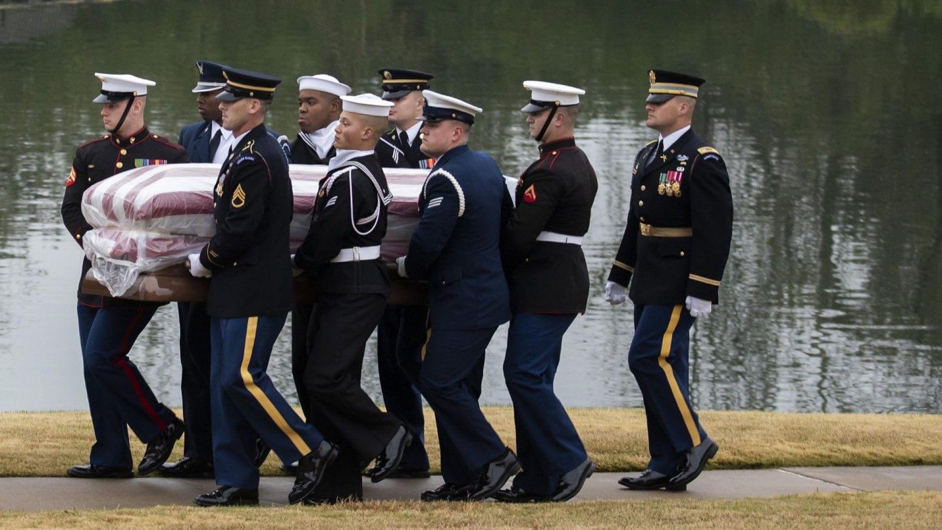 Джордж Х.У. Буш вече е в последния си дом