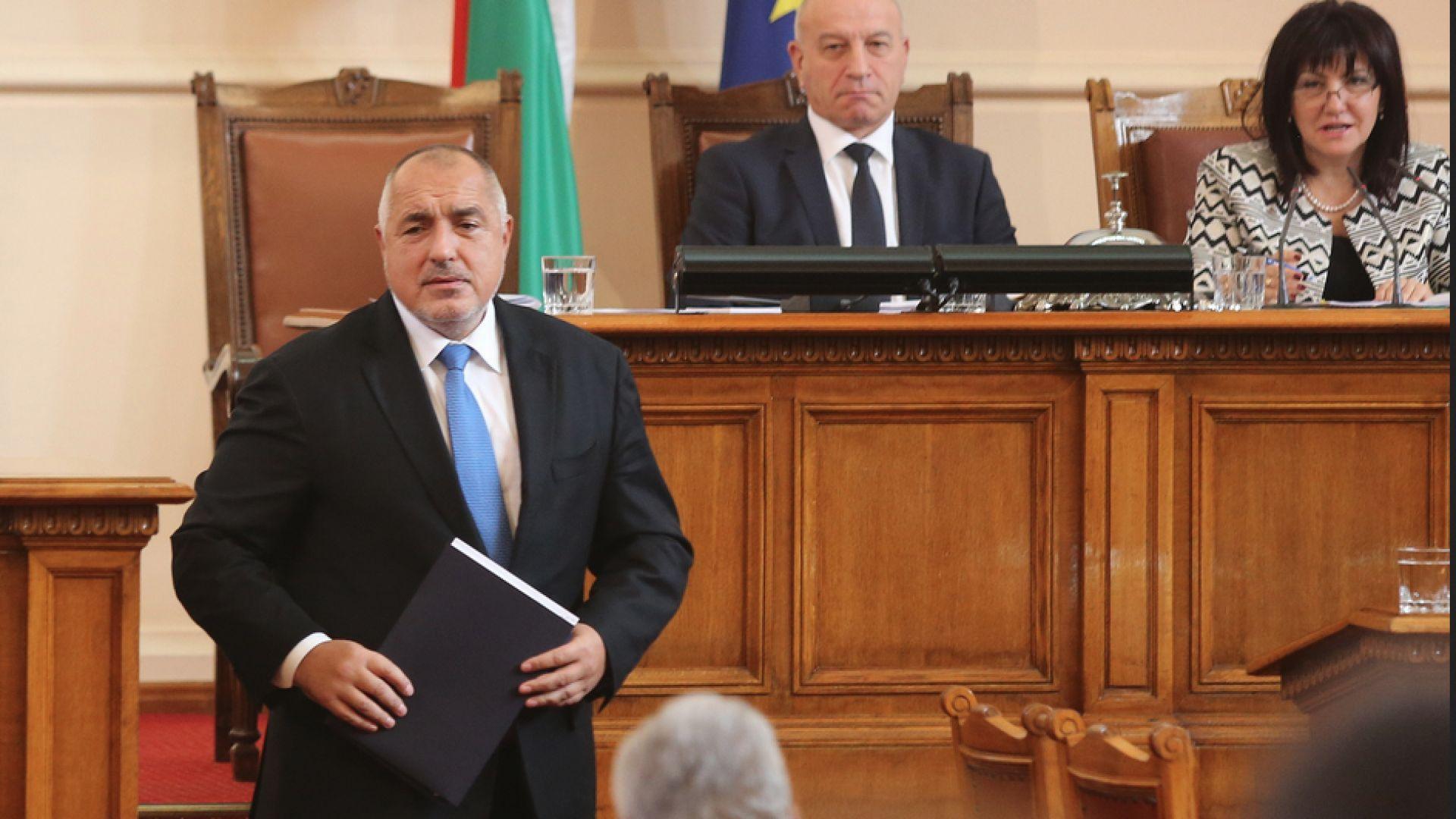 """Бойко Борисов: Ще изпълним всички мерки от кабинета """"Орешарски"""" за въздуха"""