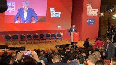 Kонгресът на ПЕС започна пред 240 журналисти и представители на 56 държави (видео)