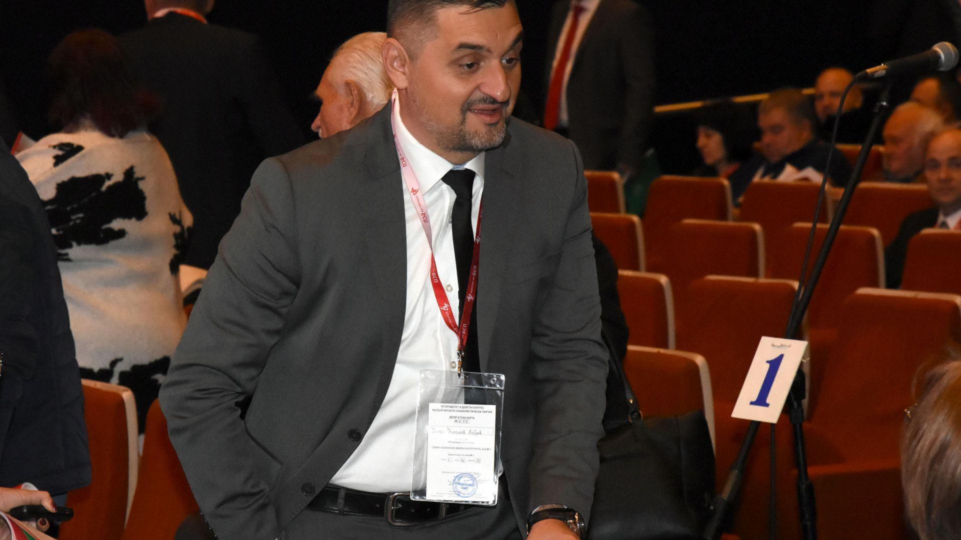 Кирил Добрев: БСП с радост ще гласува за трети мандат на Сергей Станишев, постижението е уникално